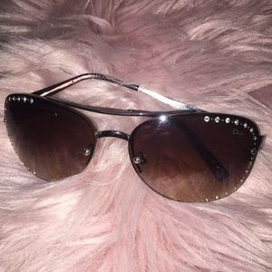 Authentic Vintage Studded Dior Glasses